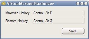 virtual screen maximizer