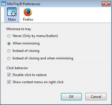 minimize firefox