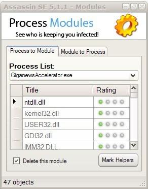 process modules viewer