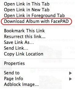 facebook album download