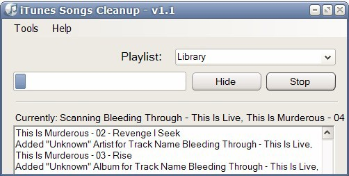 itunes songs cleanup