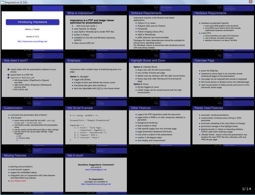 pdf presentation software