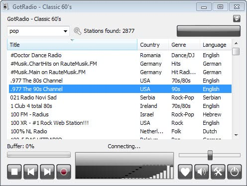 radiosure internet radio player