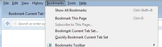 save all tabs as bookmarks