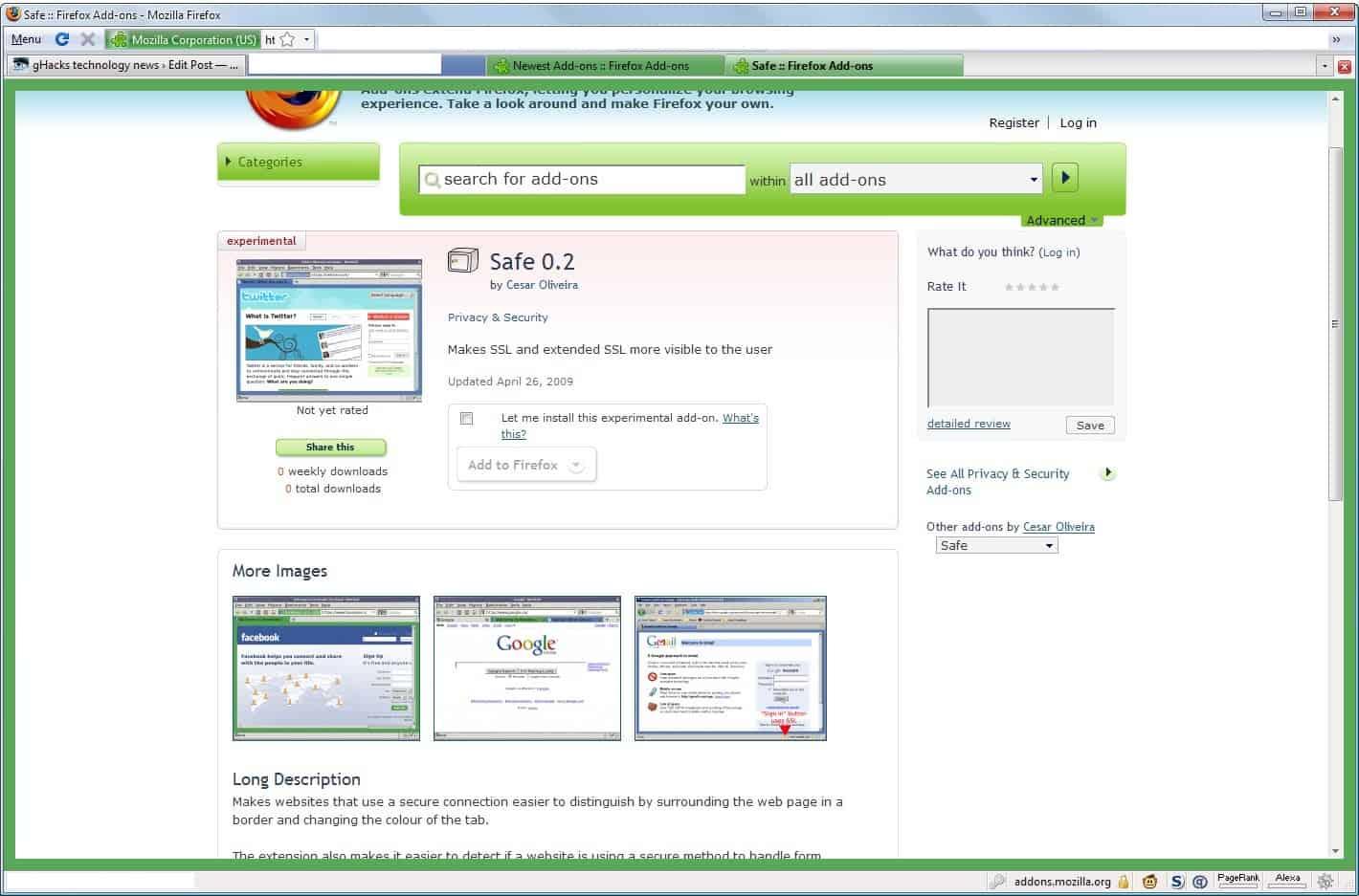 ssl internet security