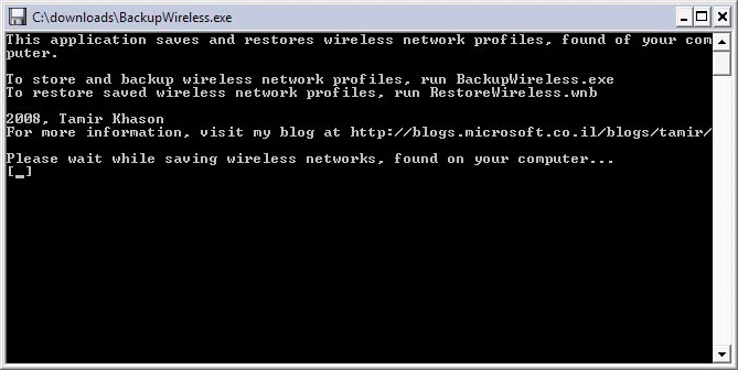 backup wireless networks