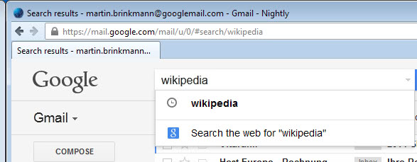 gmail search google