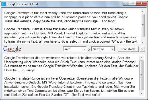 google translate software