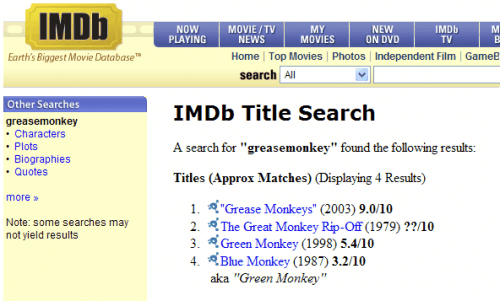 Imb movie rating