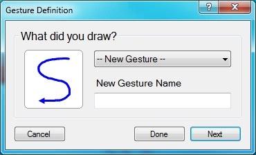 Gesture Definition