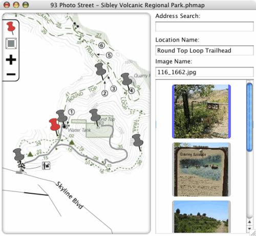 Create Photo Maps With 93 Photo Street gHacks Tech News