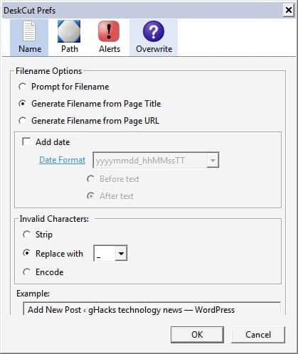 how to create shortcut with the webpage icon