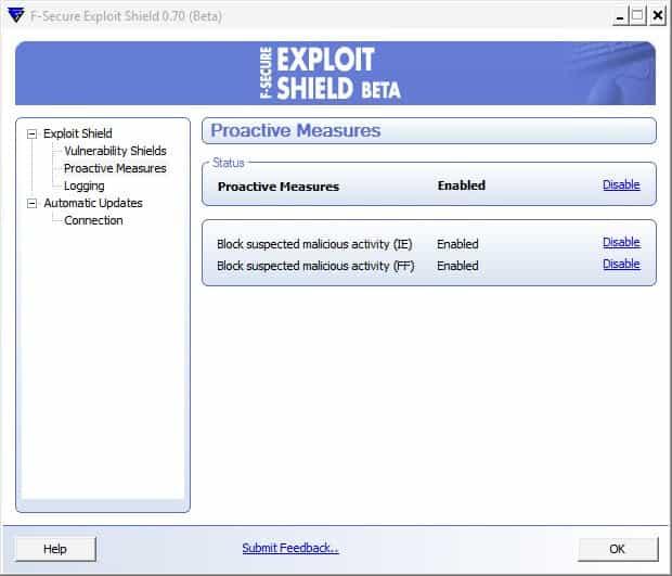 exploit shield