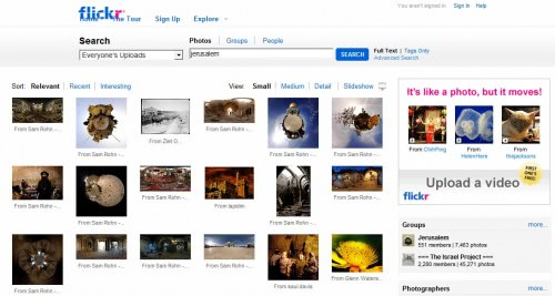 flickr search