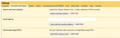 Gmail Enables Mail And Contact Import For All Gmail Accounts