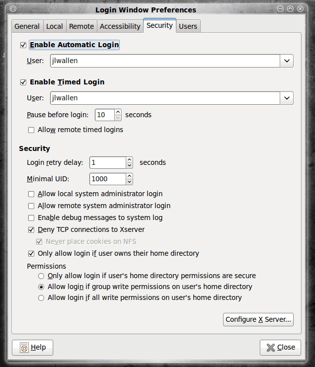 Enable auto login in Ubuntu