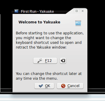 Convenient Linux terminal access with Yakuake