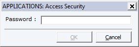 password protect programs