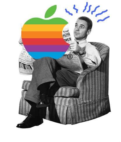 apple-newspaper-man