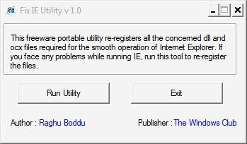auto repair internet explorer