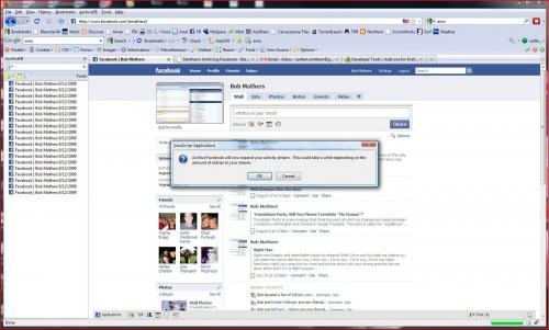 backup facebook accounts