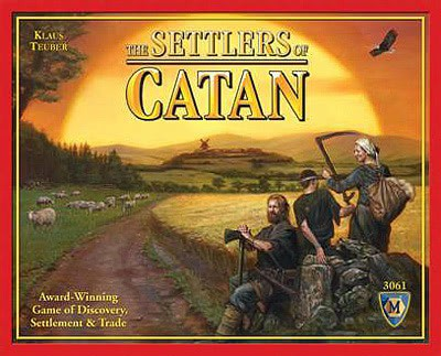 settlers-of-catan the board game