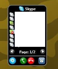 skype gadget