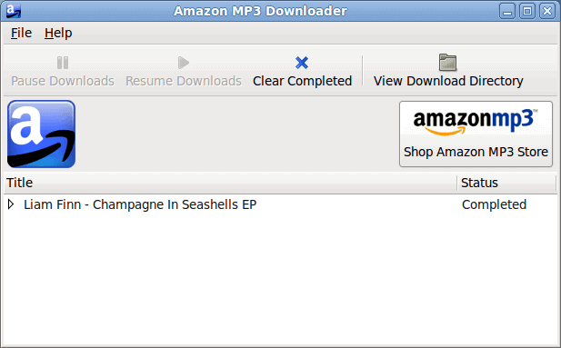 Purchase music from Amazon on your Linux machine