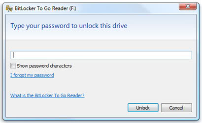 bitlocker to go reader