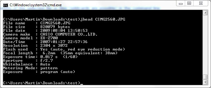 exif metadata editor