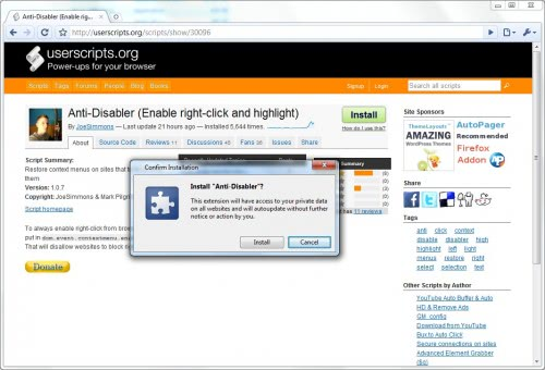 Google Chrome To Get Automatic Userscript Support