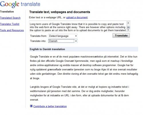 google translate. google translate