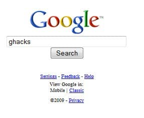 3 Faster Less Obtrusive Google Search Engines