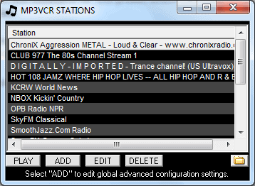 internet radio stations