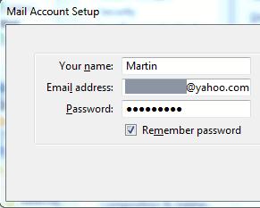 mail account setup