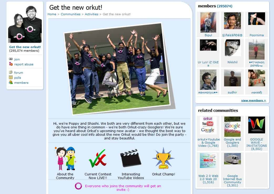 Orkut Invite For New Orkut