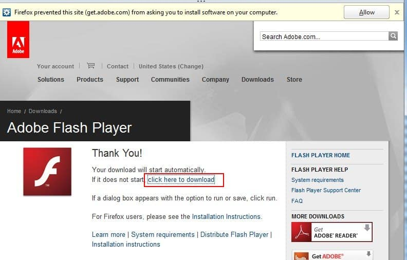 Install Adobe Flash Without Adobe DLM