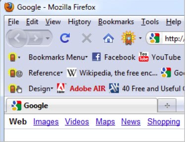 dynamic toolbar