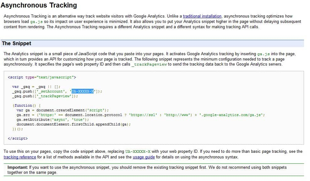 Speed Up Google Analytics