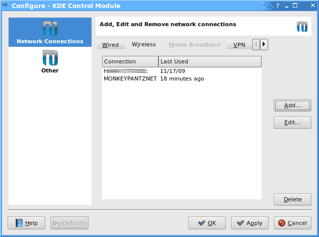 Manage your network with the new KNetwork Manager