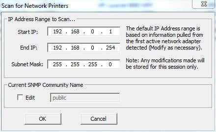 network printer scan