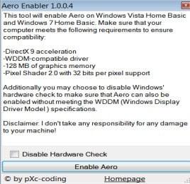 aero enabler