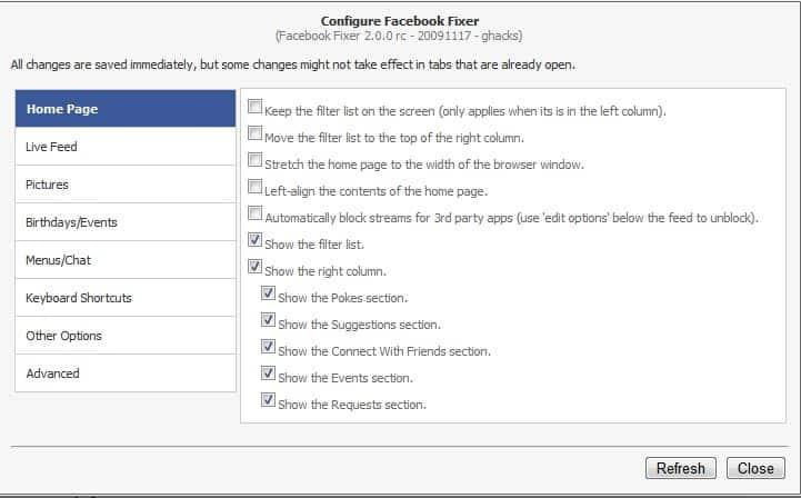 Improve Facebook With Facebook Fixer For Google Chrome