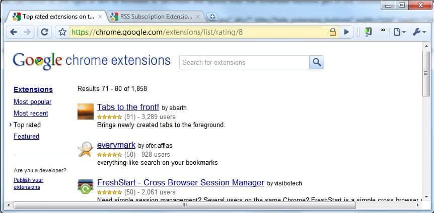 google chrome chromium