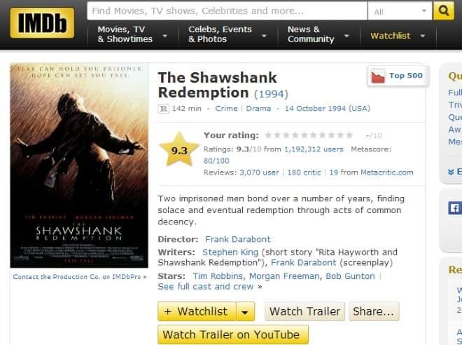 imdb youtube movie trailers