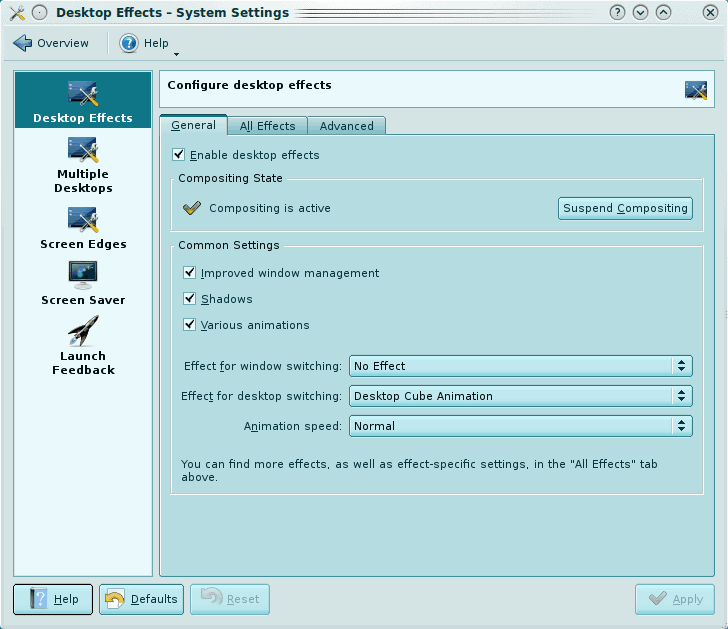Configure KDE 4 to work with Compiz