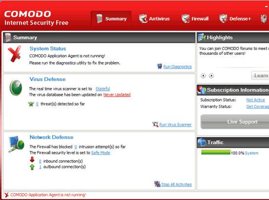 Comodo Internet Security 4 Download