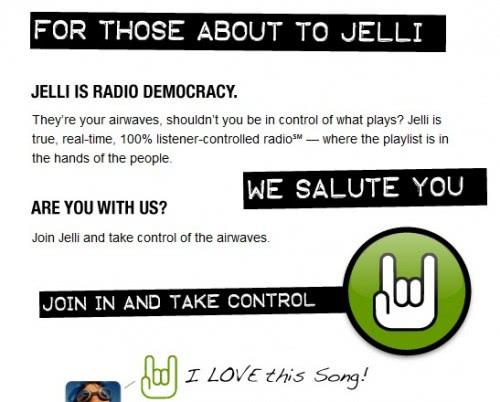 Jelli User-Generated Internet Radio Stations