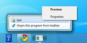 How To Pin Files And Folders To The Windows 7 Taskbar