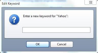 edit keyword